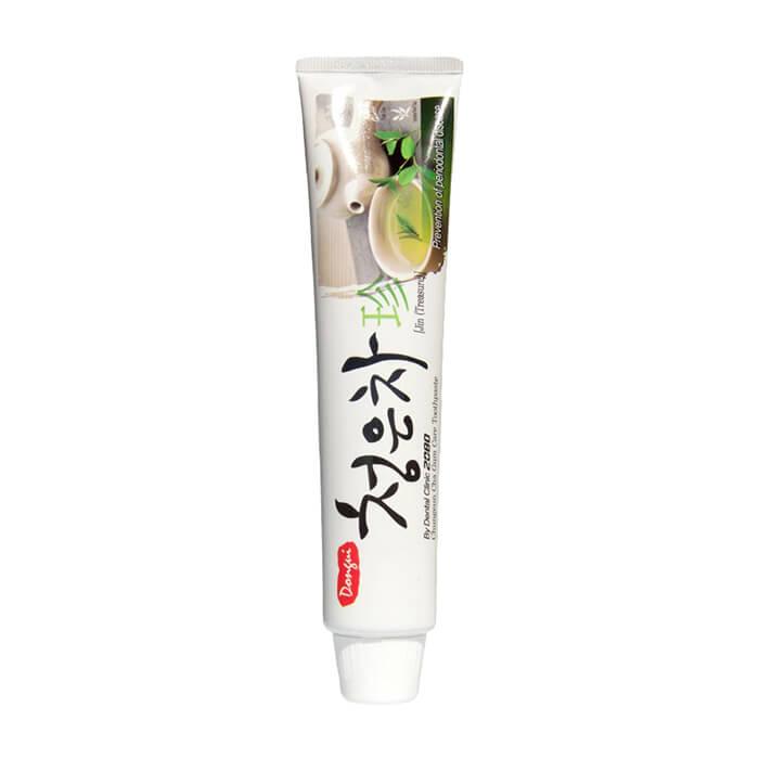 Купить Зубная паста Dental Clinic 2080 Chungeun Cha Gum Care Toothpaste, Гелевая зубная паста со вкусом восточного чая и экстрактами лечебных трав, Южная Корея