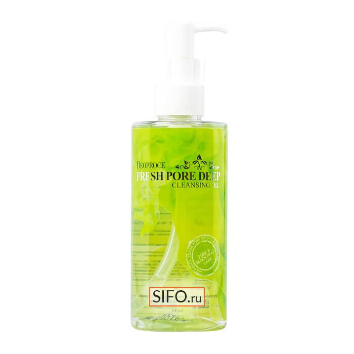 Купить Гидрофильное масло Deoproce Cleansing Oil Fresh Pore Deep, Гидрофильное масло глубоко очищающее поры, Южная Корея