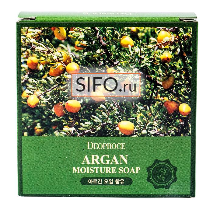 Мыло для лица Deoproce Argan Moisture Soap