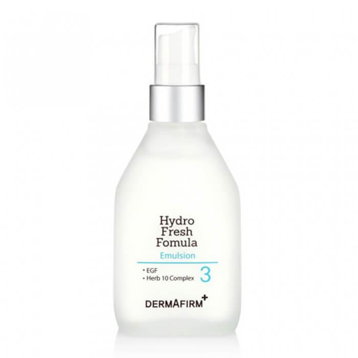 Купить Лосьон для лица Dermafirm Hydro Fresh Formula Emulsion, Глубоко увлажняющий лосьон для лица с эффектом свежести и себорегулирующим действием, Южная Корея