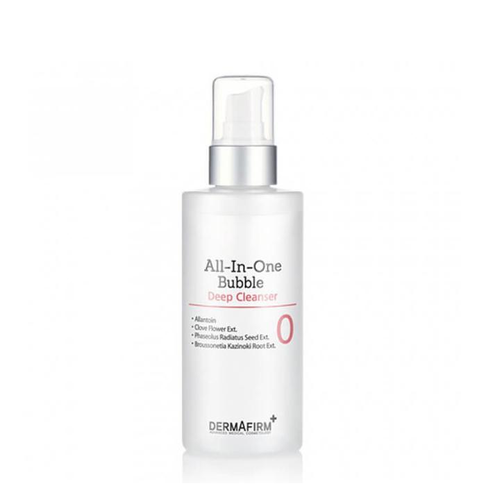 Купить Пенка для умывания Dermafirm All in One Bubble Deep Cleanser (150 мл), Пенка для очищения кожи лица от поверхностных загрязнений и макияжа, Южная Корея