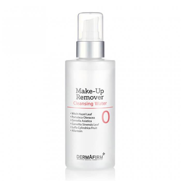 Купить Средство для снятия макияжа Dermafirm Make-up Remover, Деликатный лосьон для удаления макияжа с кожи лица, век и губ, Южная Корея