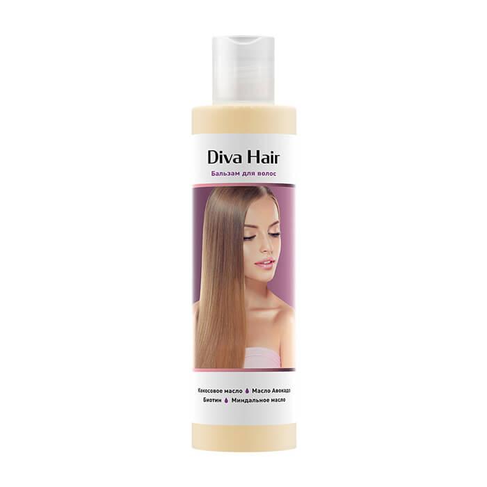 Бальзам для волос Diva Hair Balm Бальзам для восстановления и укрепления ослабленных волос фото