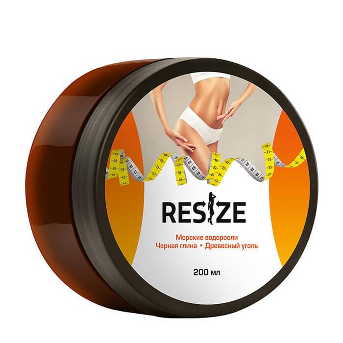 Маска для тела ReSize Детокс-обёртывание Тонизирующее детокс-обёртывание для кожи тела с глиной и углём фото