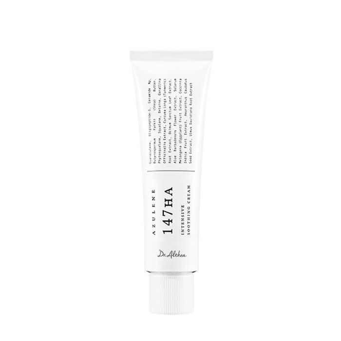 Купить Крем для лица Dr.Althea Pro Lab Azulene 147HA Intensive Soothing Cream, Успокаивающий крем для восстановления и оздоровления кожи лица с азуленом, Южная Корея