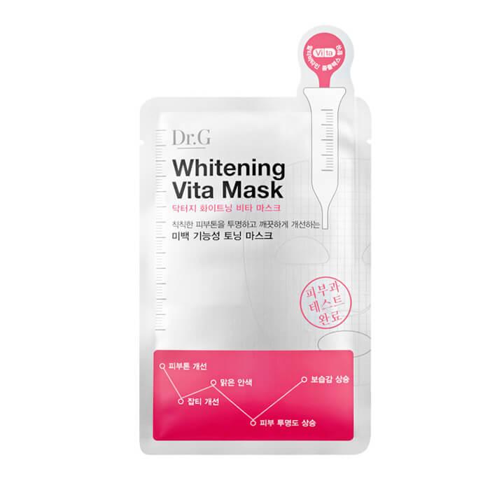 Купить Тканевая маска Dr.G Whitening Vita Mask, Осветляющая тканевая маска для лица, Южная Корея