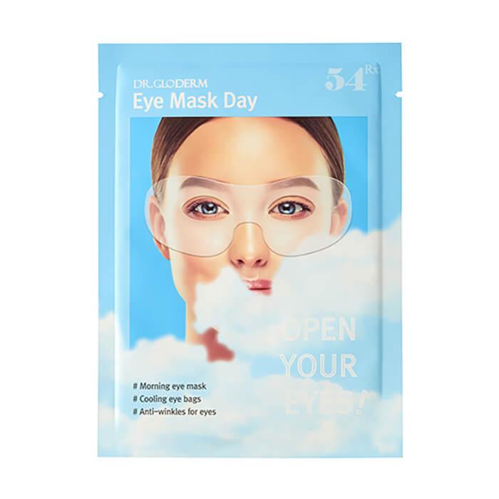 Купить Гидрогелевая маска для век Dr.Gloderm Eye Mask Day, Утренняя маска для устранения отечности и повышения эластичности кожи вокруг глаз, Южная Корея