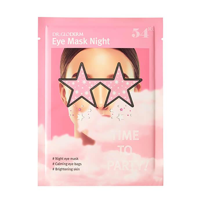 Гидрогелевая маска для век Dr.Gloderm Eye Mask Night Ночная маска для осветления темных кругов и придания сияния коже вокруг глаз фото