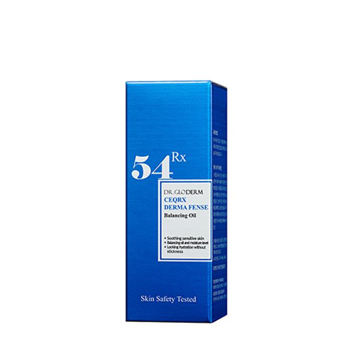 Масло для лица Dr.Gloderm CeqRX Derma Fense Balancing Oil Масло для увлажнения и снятия раздражения чувствительной кожи лица