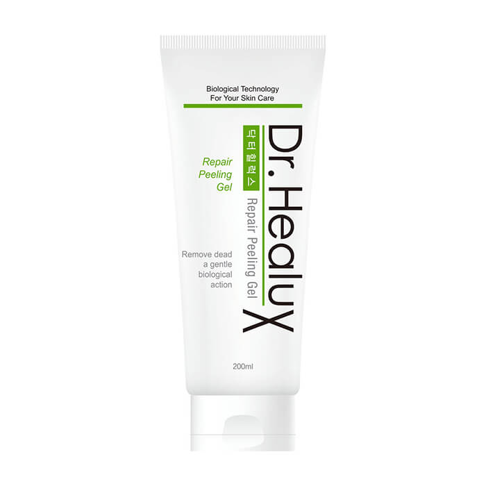 Пилинг для лица Dr.Healux EGF Repair Peeling Gel (100 мл), Гель-пилинг для кожи лица с муцином улитки и экстрактом центеллы азиатской, Южная Корея  - Купить