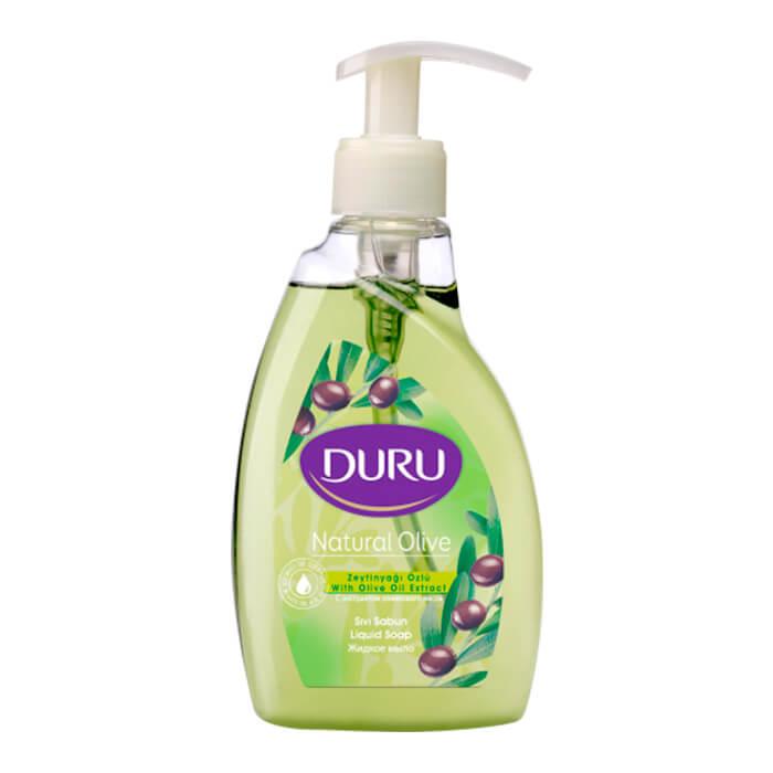 Купить Жидкое мыло Duru Gourmet Natural Olive, Жидкое мыло для рук с оливковым маслом, Турция