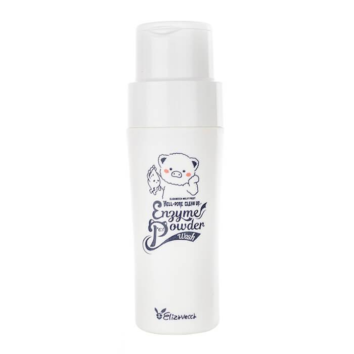 Энзимная пудра Elizavecca Milky Piggy Hell-Pore Clean Up Enzyme Powder Wash Энзимная пудра для умывания лица с низким уровнем рН фото