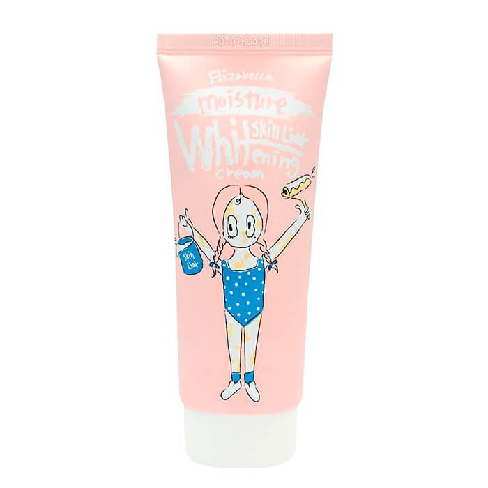 Купить Крем для лица Elizavecca Skin Liar Moisture Whitening Cream, Увлажняющий крем для осветления кожи лица, Южная Корея