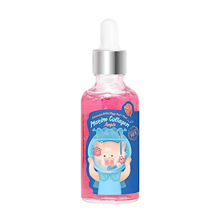 Купить Сыворотка для лица Elizavecca Hell-Pore Marine Collagen Ample, Высококонцентрированная сыворотка с морским коллагеном для лица, Южная Корея