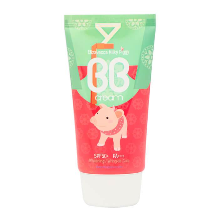 Купить ВВ крем Elizavecca Milky Piggy BB Cream, Увлажняющий ББ крем с гиалуроновой кислотой, Южная Корея