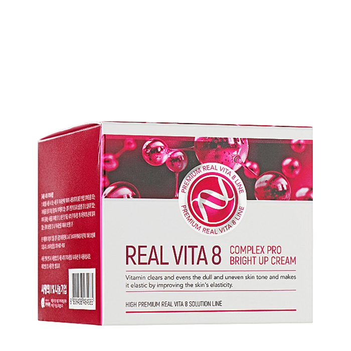 Крем для лица Enough Real Vita 8 Complex Pro Bright Up Cream Интенсивный крем для продления молодости кожи лица с 8 витаминами