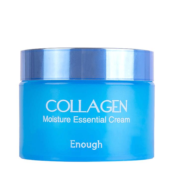 Купить Крем для лица Enough Collagen Moisture Essential Cream, Увлажняющий крем для лица с гидролизованным коллагеном, Южная Корея