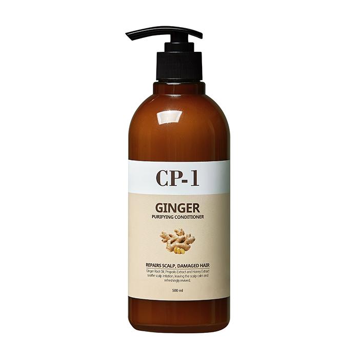 Купить Кондиционер для волос Esthetic House Ginger Purifying Conditioner, Увлажняющий восстанавливающий кондиционер для волос с экстрактом имбиря, Южная Корея