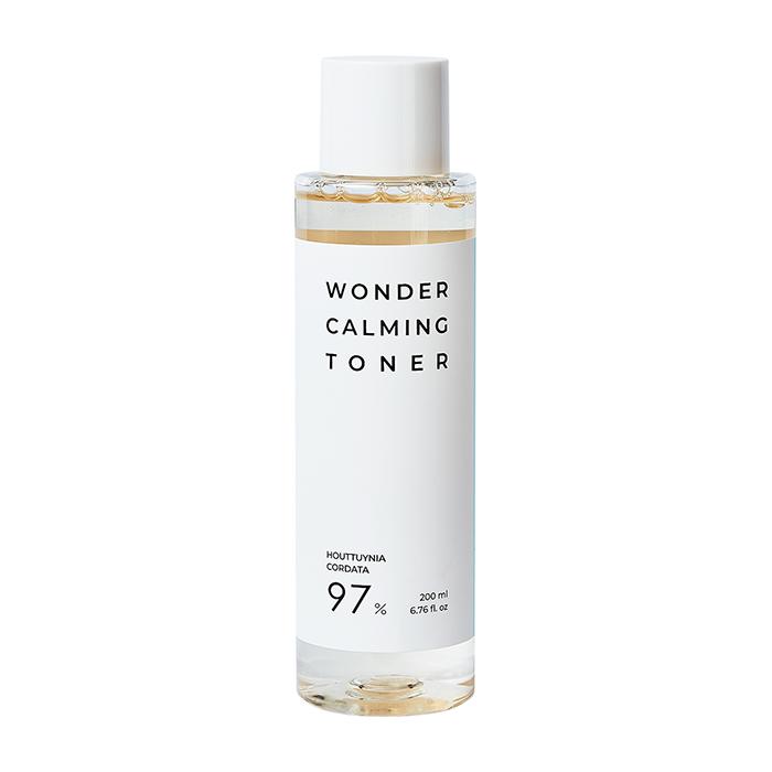 Купить Тонер для лица Esthetic House Wonder Calming Toner, Успокаивающий балансирующий тонер для кожи лица с экстрактами хауттюйнии и центеллы азиатской, Южная Корея