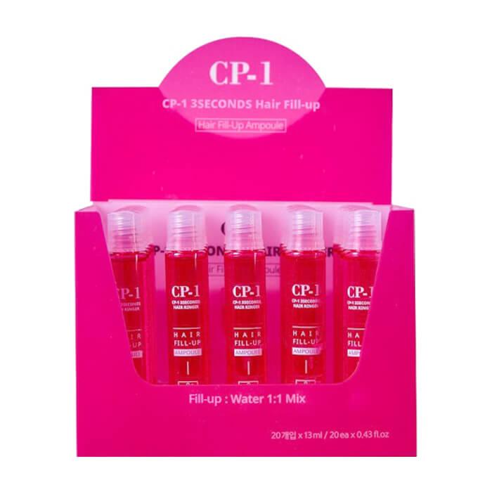 Купить Филлер для волос Esthetic House CP-1 3 Seconds Hair Ringer Hair Fill-up Ampoule (20шт), Интенсивный филлер для мгновенного питания и восстановления волос, Южная Корея