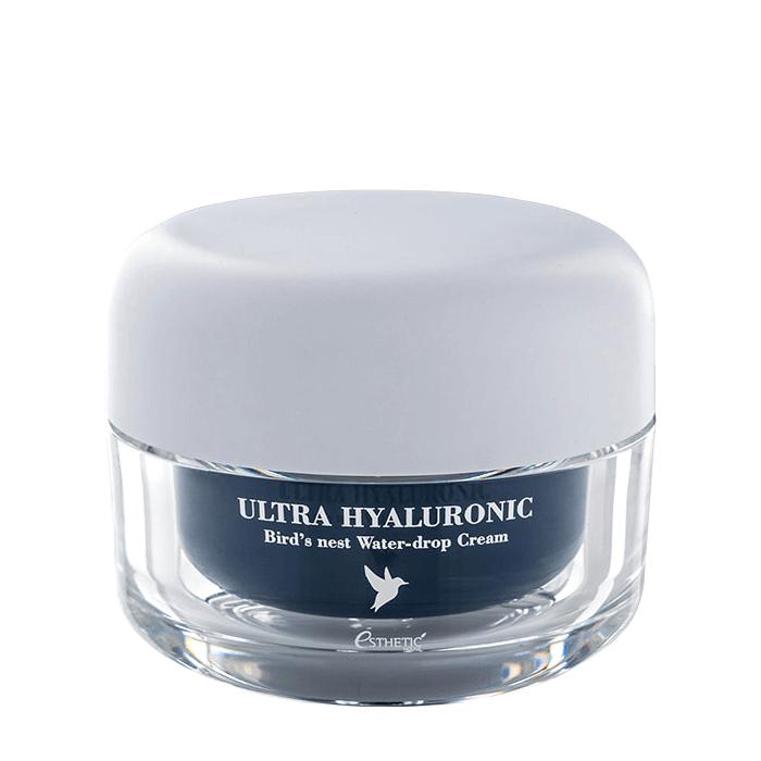 Купить Крем для лица Esthetic House Ultra Hyaluronic Acid Bird's Nest Water-Drop Cream, Интенсивно увлажняющий крем для кожи лица с экстрактом ласточкиного гнезда, Южная Корея