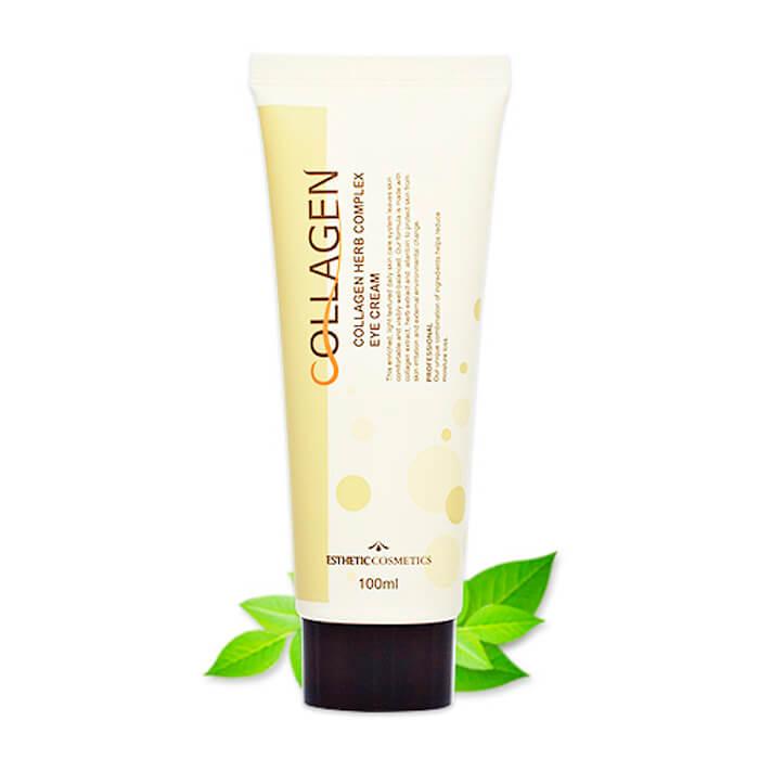 Купить Крем для век Esthetic House Collagen Herb Complex Eye Cream, Крем для век с коллагеном и растительными экстрактами, Южная Корея