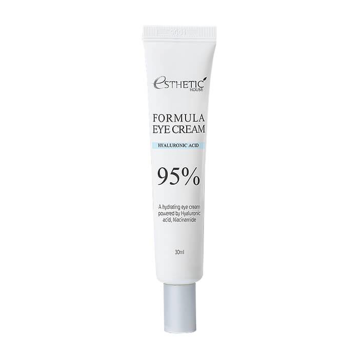 Купить Крем для век Esthetic House Formula Eye Cream Hyaluronic Acid 95%, Увлажняющий крем для кожи вокруг глаз с гиалуроновой кислотой и ниацинамидом, Южная Корея