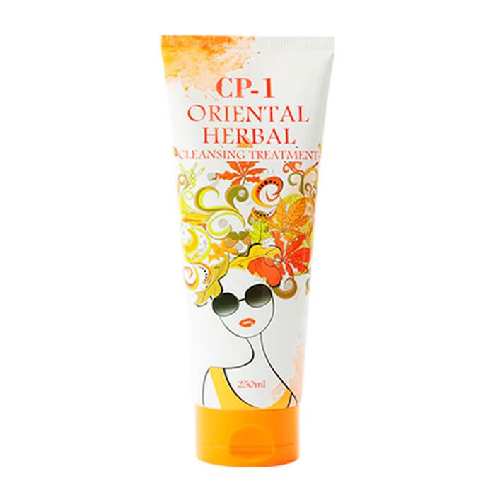 Купить Маска для волос Esthetic House CP-1 Oriental Herbal Cleansing Treatment, Парфюмированная маска для волос с экстрактами восточных трав, Южная Корея
