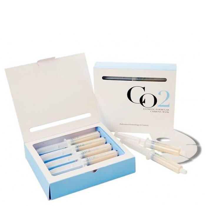 Купить Набор карбокситерапии Esthetic House CO2 Esthetic Formular Carboxy Mask Set, Набор масок (лицо+шея) для домашней процедуры неинвазивной карбокситерапии, Южная Корея