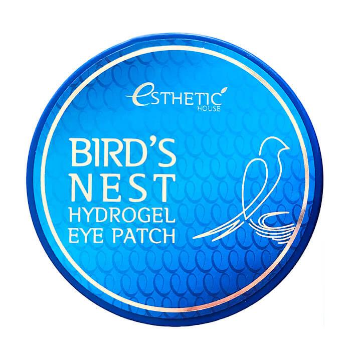 Купить Патчи для глаз Esthetic House Bird's Nest Hydrogel Eye Patch, Гидрогелевые патчи для век с экстрактом ласточкиного гнезда, Южная Корея