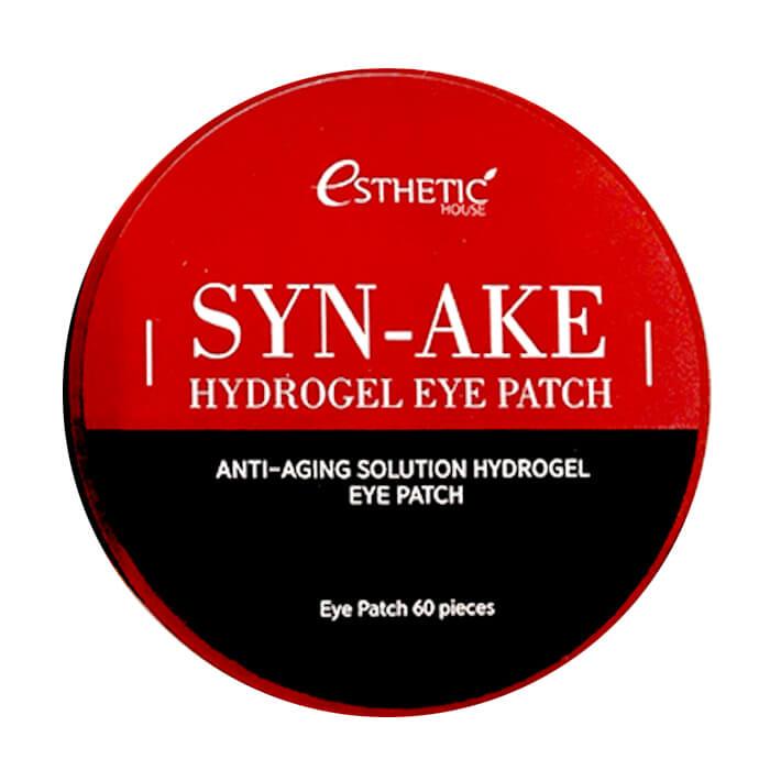 Купить Патчи для глаз Esthetic House Syn-Ake Hydrogel Eye Patch, Гидрогелевые патчи для кожи вокруг глаз со змеиным ядом, Южная Корея