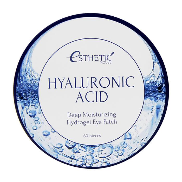 Купить Патчи для век Esthetic House Hyaluronic Acid Hydrogel Eye Patch, Увлажняющие гидрогелевые патчи для век с гиалуроновой кислотой, Южная Корея