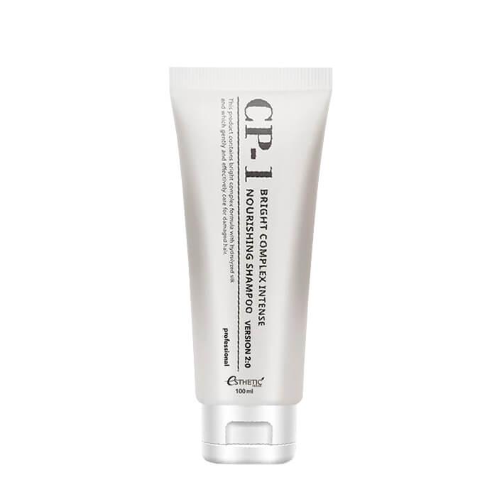 Купить Шампунь для волос Esthetic House CP-1 Bright Complex Intense Nourishing Shampoo v2.0 (100 мл), Обновлённый интенсивно питающий шампунь для волос с протеинами, Южная Корея