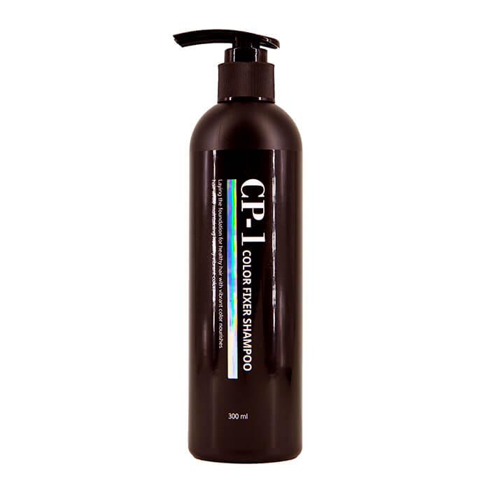 Купить Шампунь для волос Esthetic House CP-1 Color Fixer Shampoo, Шампунь для защиты цвета окрашенных и тонированных волос, Южная Корея