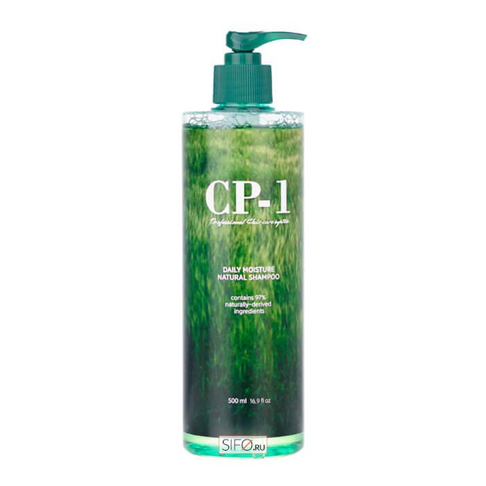 Купить Шампунь для волос Esthetic House CP-1 Daily Moisture Natural Shampoo, Натуральный увлажняющий шампунь для ежедневного применения, Южная Корея