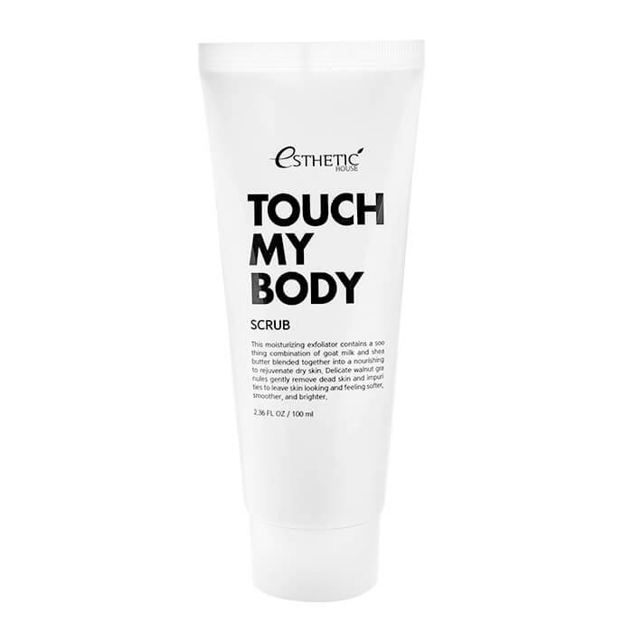 Купить Скраб для тела Esthetic House Touch My Body Goat Milk Body Scrub (100 мл), Смягчающий скраб для тела с козьим молоком, Южная Корея