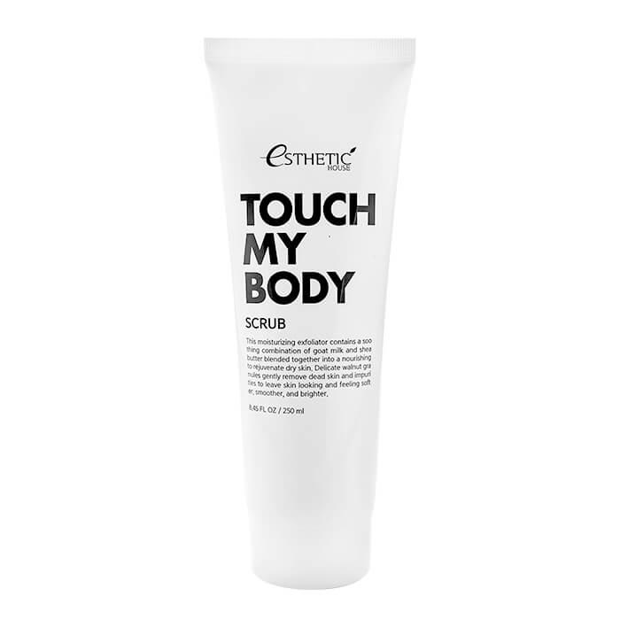 Купить Скраб для тела Esthetic House Touch My Body Goat Milk Body Scrub (250 мл), Смягчающий скраб для тела с козьим молоком, Южная Корея