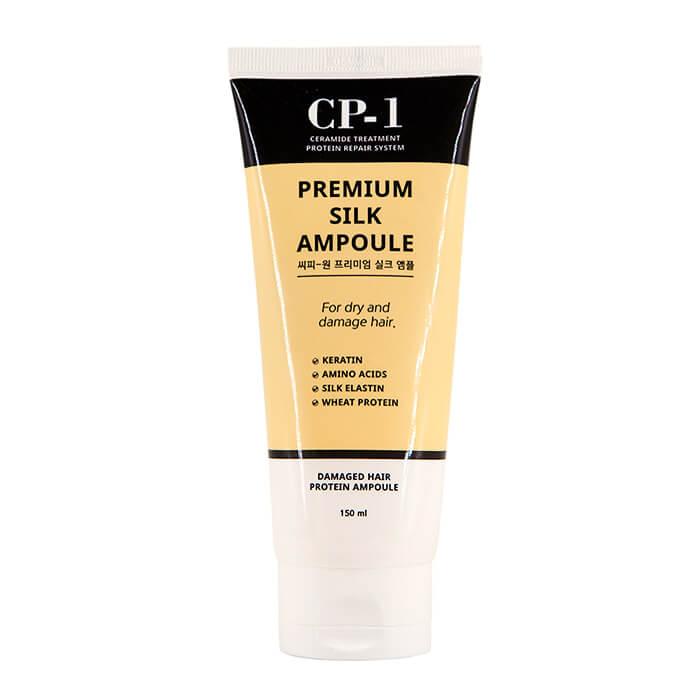 Купить Сыворотка для волос Esthetic House CP-1 Premium Silk Ampoule (150 мл), Несмываемая сыворотка для волос с протеинами шёлка, Южная Корея