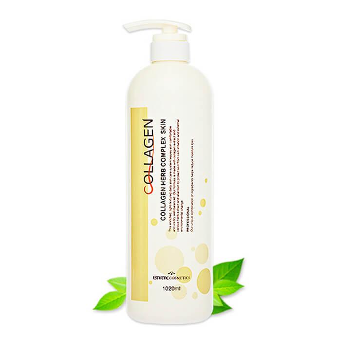 Купить Тонер для лица Esthetic House Collagen Herb Complex Skin, Тонер для лица с коллагеном и растительными экстрактами, Южная Корея