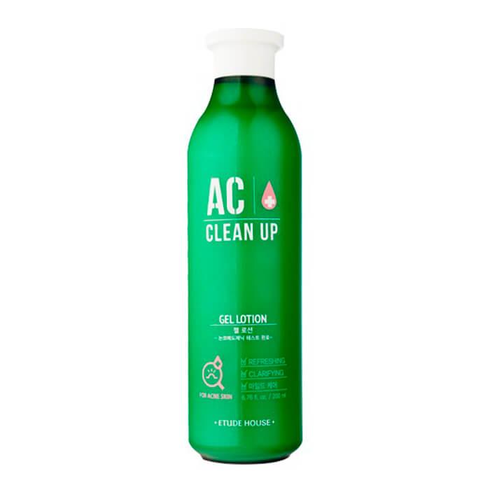 Купить Лосьон для лица Etude House AC Clean Up Gel Lotion, Антисептический лосьон для лечения проблемной кожи лица, Южная Корея