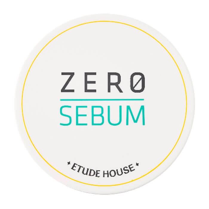Купить Матирующая пудра Etude House Zero Sebum Drying Powder, Подсушивающая пудра для матирования проблемной кожи лица, Южная Корея