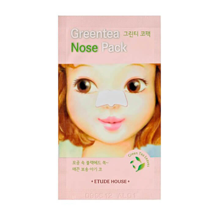 Патч для носа Etude House Green Tea Nose Patch