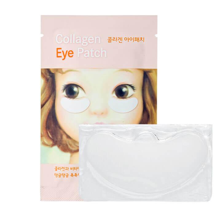Купить Патчи для век Etude House Collagen Eye Patch, Локальная патчи для кожи вокруг глаз с морским коллагеном, Южная Корея