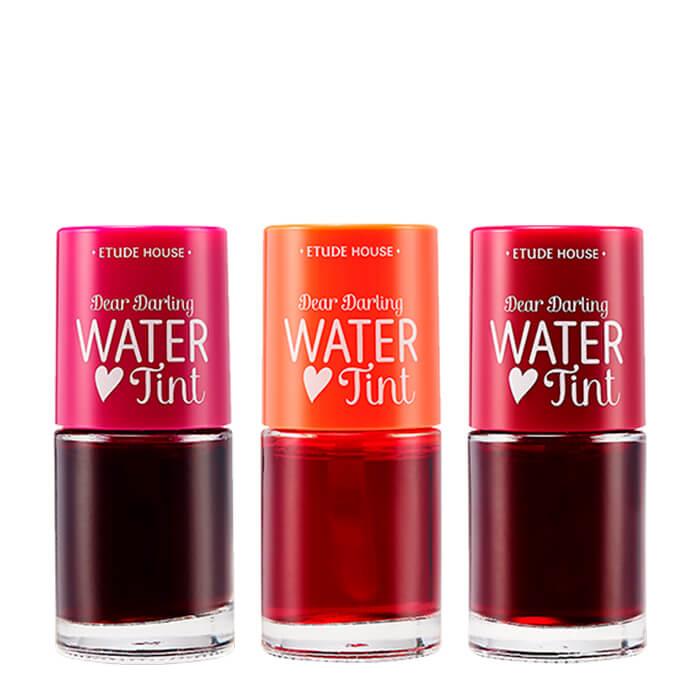 Купить Тинт для губ Etude House Dear Darling Water Tint, Цвет #2 Strawberry | Клубника, Стойкий тинт на водной основе с нежным фруктовым ароматом, Южная Корея
