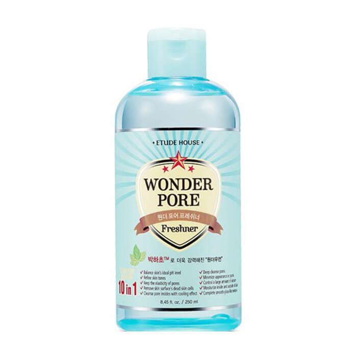 Купить Тонер для лица Etude House Wonder Pore Freshner 10 in 1 (250 мл), Универсальный тонер для борьбы с расширенными порами и акне, Южная Корея