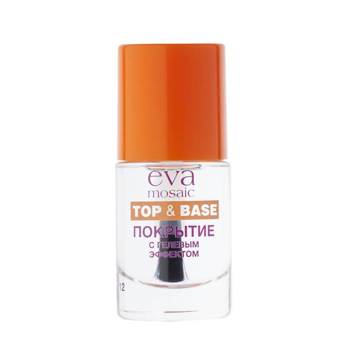 Купить со скидкой Покрытие для ногтей с гелевым эффектом Eva Mosaic Top Base