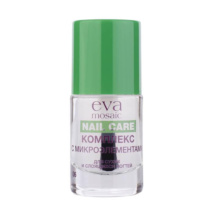 Средство для сухих и слоящихся ногтей Eva Mosaic Nail Care Укрепляющее средство для ногтей с микроэлементами