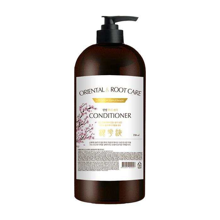 Купить Кондиционер для волос Evas Pedison Institut-Beaute Oriental Root Care Conditioner (750 мл), Кондиционер с комплексом лекарственных растений для оздоровления кожи головы и волос, Южная Корея