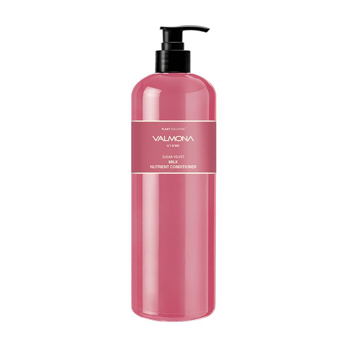 Купить Кондиционер для волос Evas Valmona Sugar Velvet Milk Nutrient Conditioner (480 мл), Кондиционер для оздоровления волос с комплексом из молока и экстрактов ягод, Южная Корея