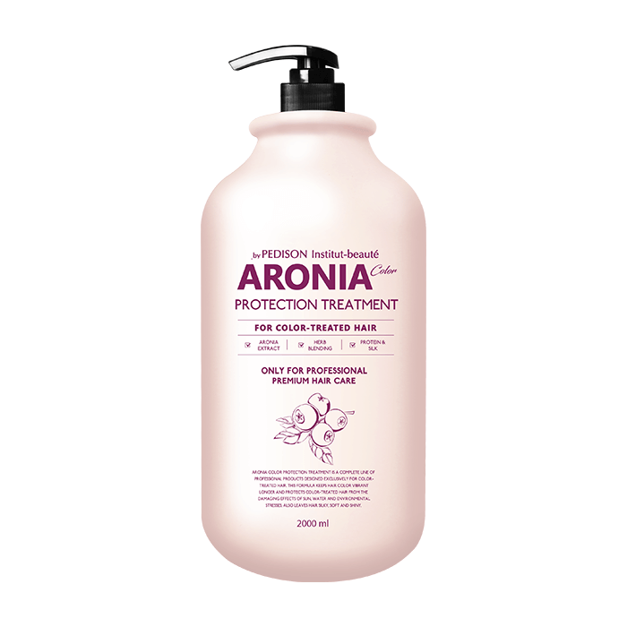 Маска для волос Evas Pedison Institut-Beaute Aronia Color Protection Treatment (2л) Маска для восстановления окрашенных волос и поддержания насыщенности и яркости цвета фото